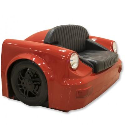 Canapé Porsche rouge