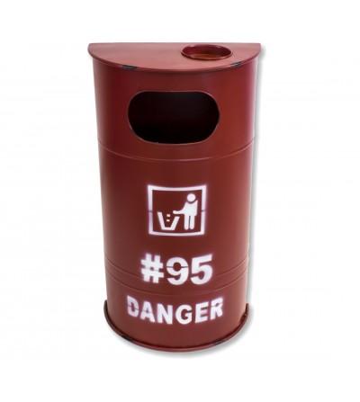 Red drum bin