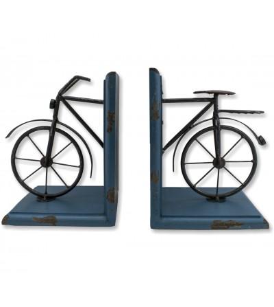 Apoios de livros de bicicleta