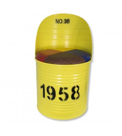 Yellow bottle chair
