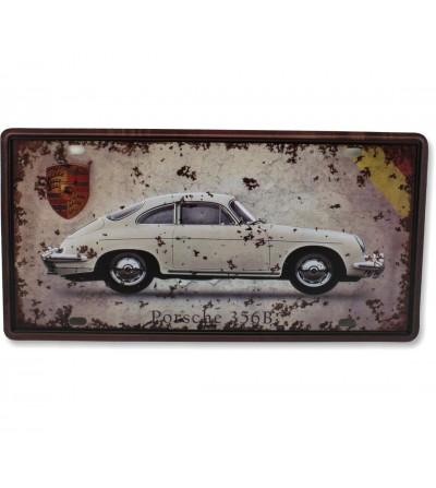 Placa Porsche 30x15
