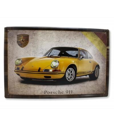 Placa Porsche 40x60