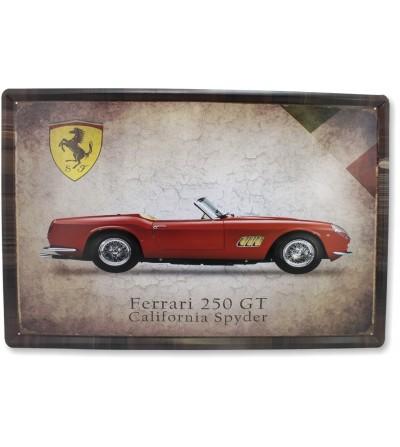 Targa Ferrari 40x60