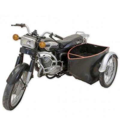 Motocicleta lateral Honda decorativa