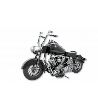 Moto décorative noire