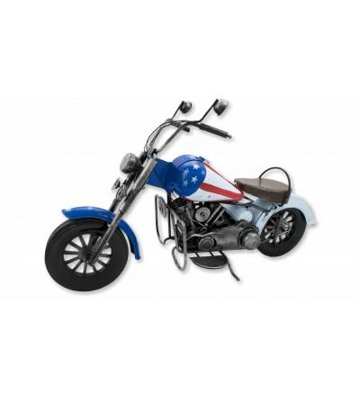 Motocicleta decorativa EUA