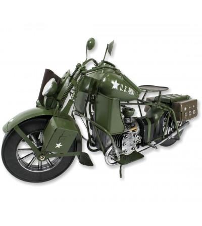 Motocicleta decorativa Exército dos EUA