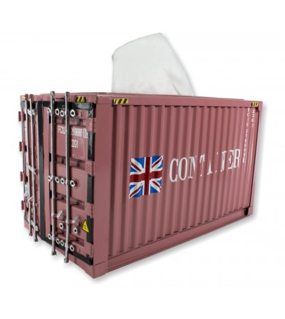 Container tissues pink