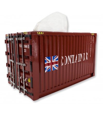 Container tissues red