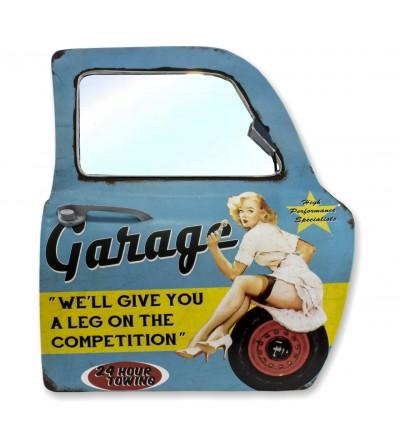 Vintage car door mirror