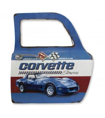 Puerta coche Corvette decorativa