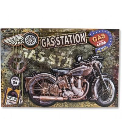 Quadro de motocicleta vintage