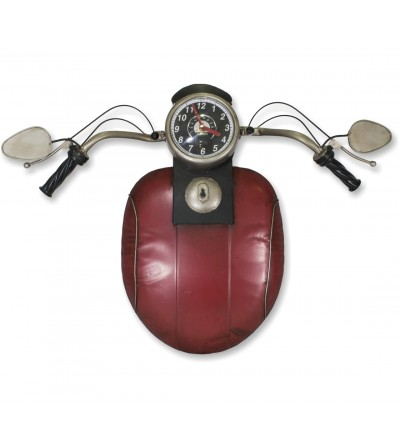 Orologio da motociclista rosso metallizzato decorativo