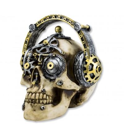 Skull resin decoration