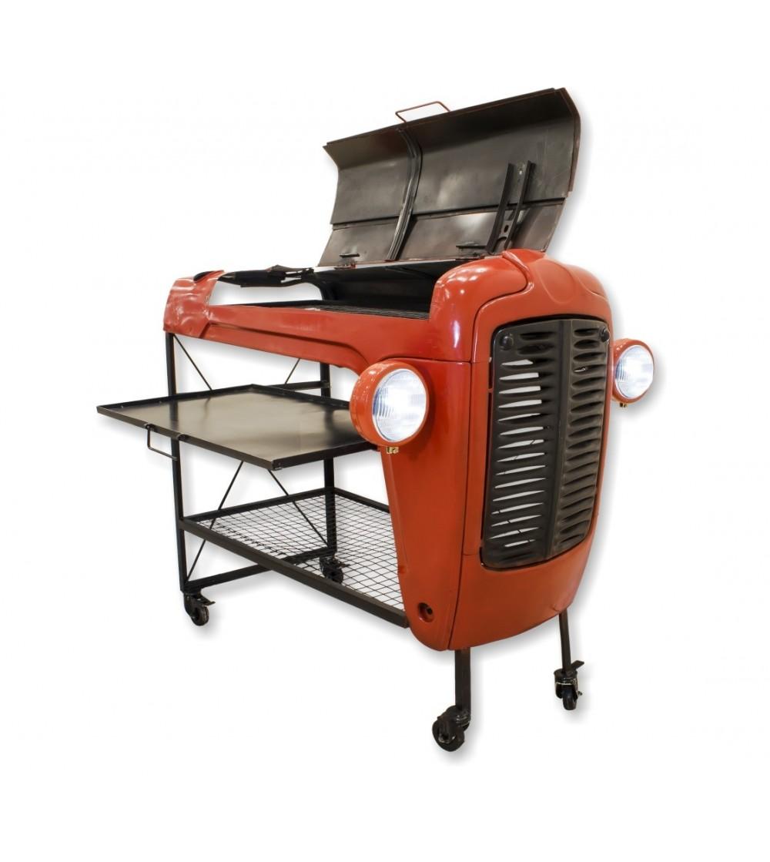 Tracteur de barbecue