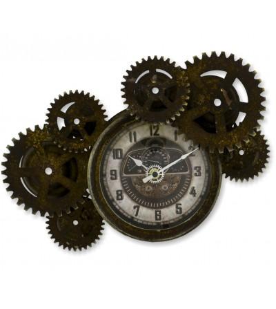 Industrial gear clock