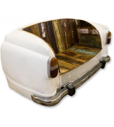 Vintage car sofa