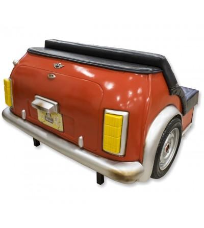 Mini Cooper rear sofa