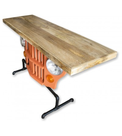 Jeep front counter table