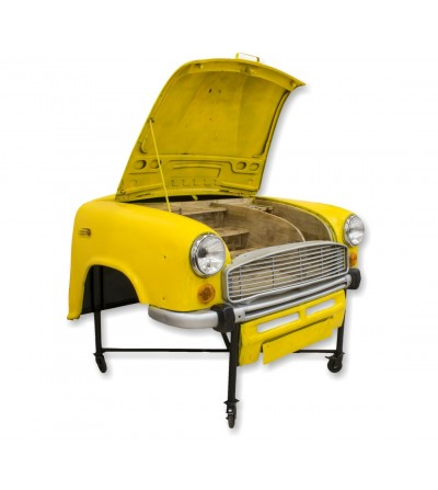Armário de bar Ambassador para carro industrial vintage