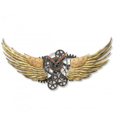 Dekorative Flügel zwei Meter mit Zahnrädern