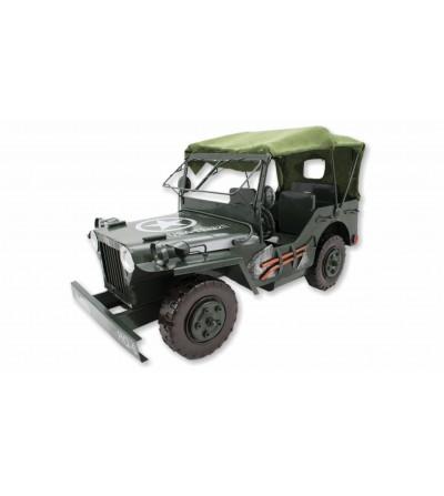 Jeep décorative en métal