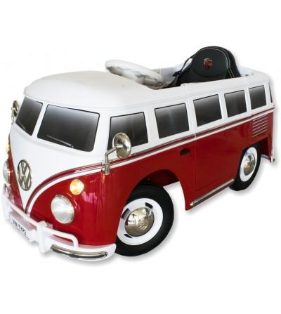 Coche eléctrico infantil furgoneta Volkswagen T1