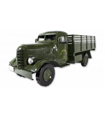 Camion in metallo decorativo