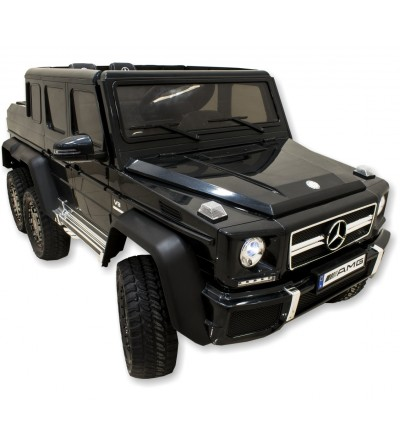 Mercedes G63 electric off-road vehicle