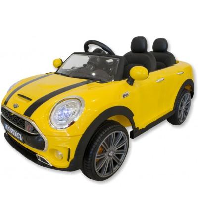 Carro elétrico infantil Mini amarelo