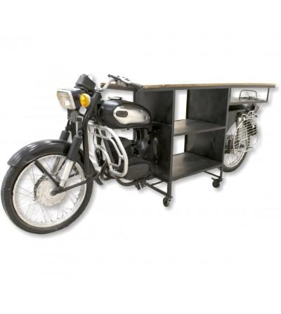 Mesa de motocicleta vintage