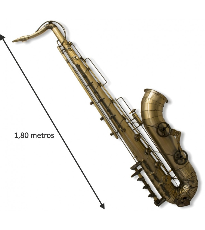 Saxofone decorativo 1,80 metros