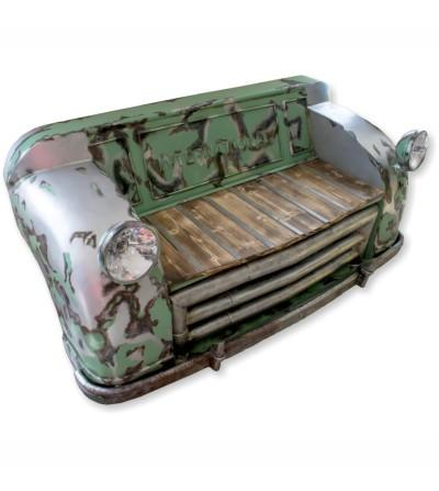 Sofá de carro estilo industrial