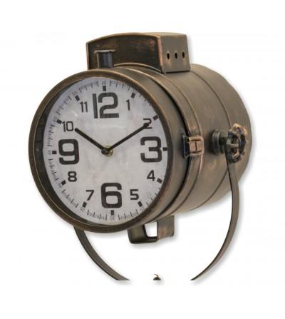 Light colored grandfather clock
