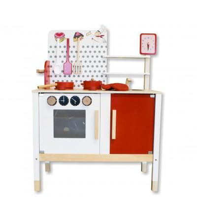 Cozinha infantil de madeira