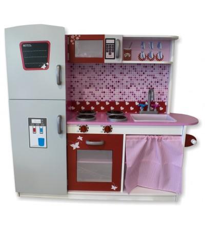 Wooden children's kitchen