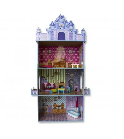 Casa de bonecas do palácio de gelo