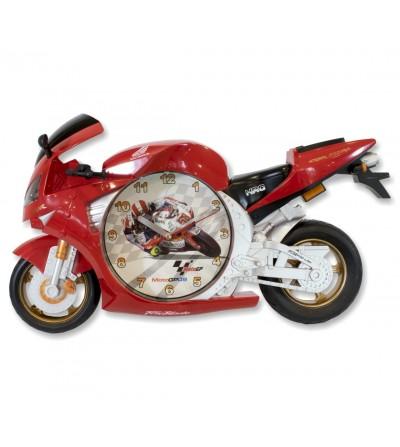 Relógio moto vermelho Honda cbr 600rr