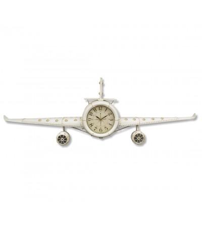 Metal plane clock