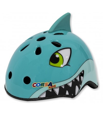 Shark children's helmet