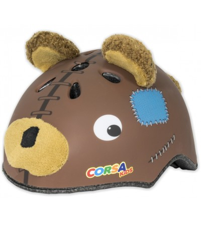 Bear children's helmet
