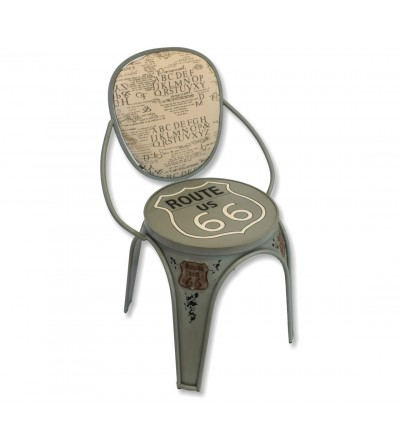 Route 66 vintage chair